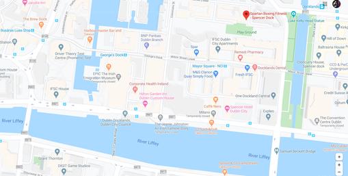 Boxing Gym Dublin Spencer Dock